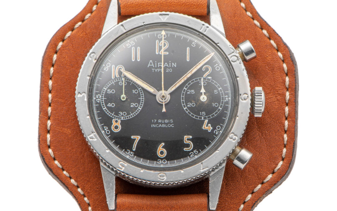 1960's Airain Type 20 sold in Antiquorum's Auction 'Important Modern & Vintage Timepieces' – November 2020